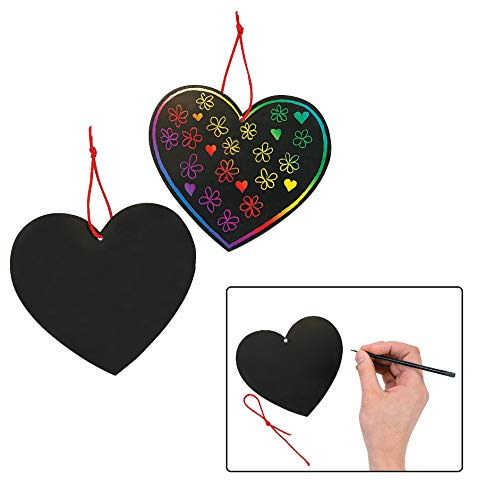 Magic Color Scratch Hearts (24 Pieces) 5