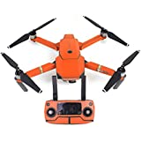 UUMART DJI Mavic Pro Quadcopter Drone Spare Parts Sticker Decal Waterproof Anti Scratch Skin Guard-Orange