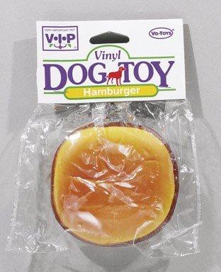 Vo Toy Vinyl - Boss Hamburger Dog Toy Vinyl