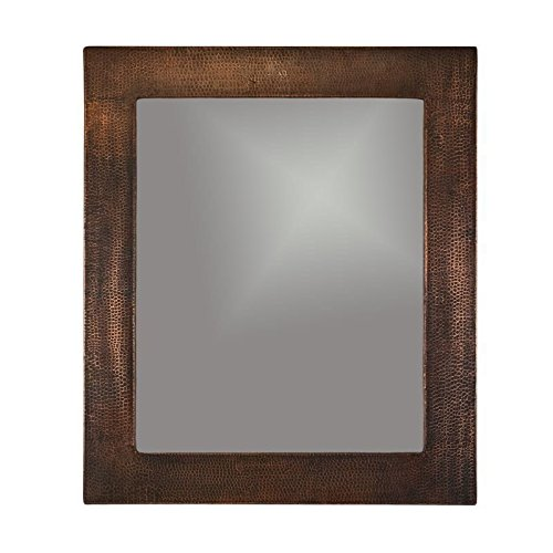 Premier Copper Products MFREC3631 36 in. Hand Hammered Rectangle Copper - Shop Reno Frame