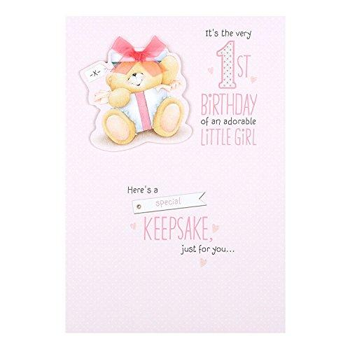 Hallmark Forever Friends 1st Birthday Card