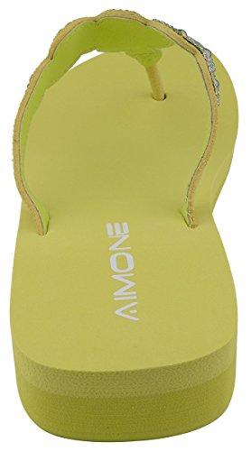 AIMONE AViva - Sandalias para Mujer Verde
