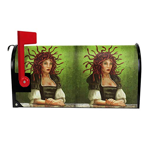 Dream Medusa Comic Halloween Decoration Mailbox Cover Outdoor Themed Printed Products Cover Magnetic Post Box 21