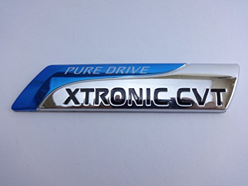 Pure Drive Xtronic CVT Emblem Badge Car Accessories with chrome effect and 3M Adhesive by Lifestyle Go