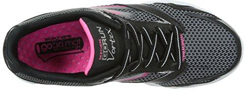 Run Vortex femme Hot Go Pink Running Black Skechers Entrainement 5qapBaW