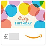 Happy Birthday Balloons -  Amazon.co.uk eGift Vouch