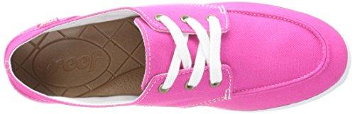 Reef Girls Deckhand 2 - Zapatillas Mujer Rosa - Pink - Rose (Hot Pink)