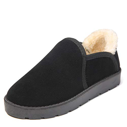 Invierno Cálido Corto Phy Tubo Plano Fondo Nieve De Antideslizante Negro Shoe Botas wIq0IZB