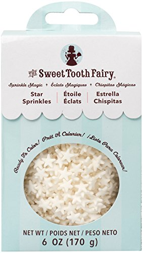 - American Crafts Sweet Tooth Fairy Sprinkle Magic Stars 6 Oz, White