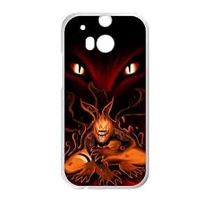 Naruto Fire Wolf White HTC M8 case