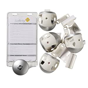 Amazon Com Safety 1st Prograde 4 Latches No Drill