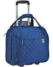 حقيبة حمل ديلسي باريس المتدحرجة تحت المقعد، باللون الأزرق، مقاس واحد، حقيبة حمل متدحرجة تحت المقعد