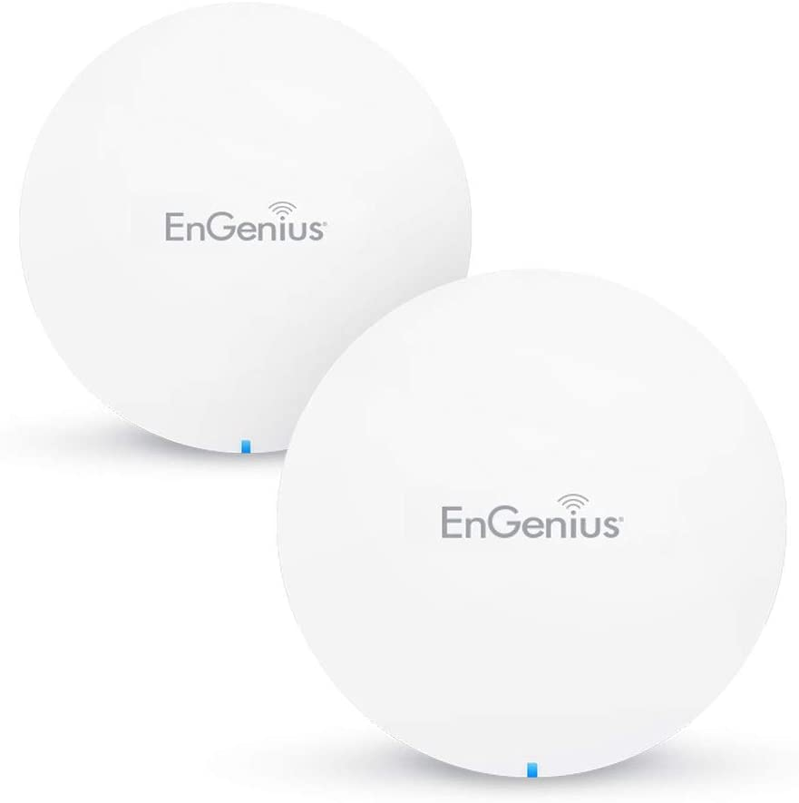 EnGenius Whole Home Mesh WiFi System – Dual Band AC1300 Whole-Home Mesh Network, , up to 3000 sq. ft. coverage High Performance Router/Extender Replacement (ESR530-2Pack)