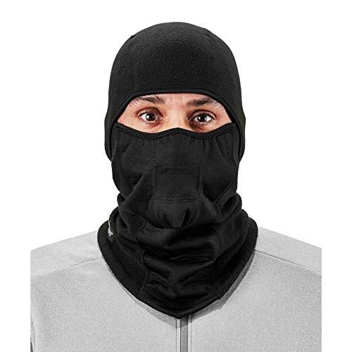 Ergodyne N-Ferno 6823 Winter Balaclava Ski Face Mask, Black