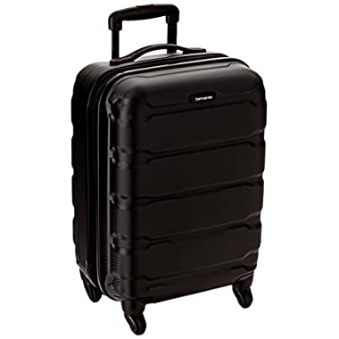 Samsonite Omni PC Hardside Spinner 20, Black, One Size