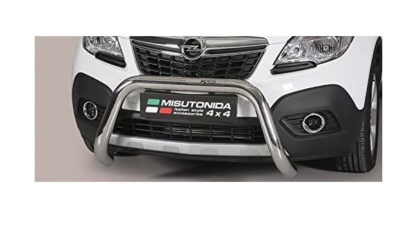 misutonida Vauxhall (Opel) Mokka Super Bar EC/SB/318/IX EC Aprobado Super Bar Inox 76 mm: Amazon.es: Coche y moto
