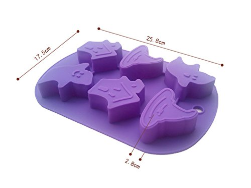 Cake mould pudding chocolate mold soap chocolate silicone 6-