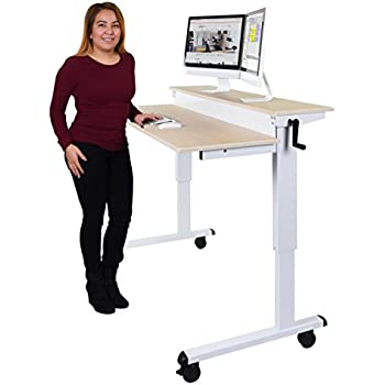 Amazon Com Devaise Adjustable Height Standing Desk 55