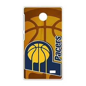 Indiana Pacers NBA White Phone Case for Nokia Lumia X Case