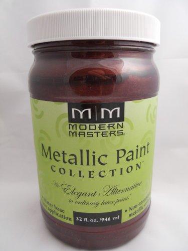 (Me704-32 32oz Black Cherry Metallic Paint Collection)