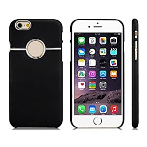 LCJ Simple Style Plastic Case for 4.7'' iPhone 6(Assorted Colors) , Black
