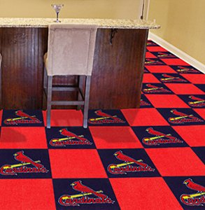 Fanmats MLB 18 x 18 in. Carpet Tiles