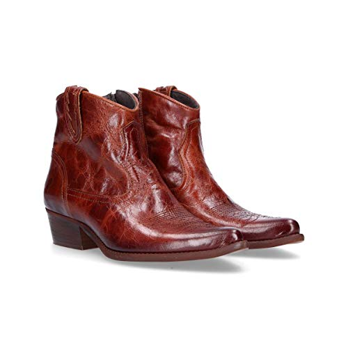 Marron Bottines Cuir Fe504mbrown Felmini Femme 4YZaqEYv