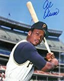 : Autographed Al Oliver Photo - 8x10 bat on shoulder) - Autographed MLB Photos
