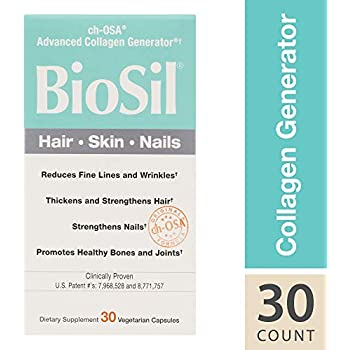 BioSil - Hair, Skin, Nails, Natural Nourishment For Your Body's Beauty Proteins, 30 capsules (FFP)