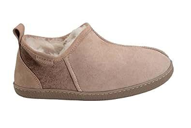 Rusnak Femmes Hommes En Peau De Mouton Doublure En Cuir Souple Pantoufles Laine Chaude Chaussures À La Maison yguGl6ZBh3