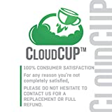 CloudCUP Replacement Gaskets with Lip, Gasket for