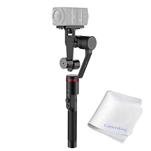 MOZA Guru 360 Panoramic Camera Handheld Gimbal,Steadycam Video Smartest Stabilizer For Samsung Gear 360,Nikon Keymission 360,Casio EX-FR200,360Fly Action Camera,RICOH THETA S/SC etc by Moza