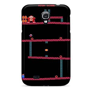 Top Quality Case Cover For Galaxy S4 Case With Nice Donkey Kong Appearance