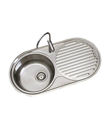 Timblau Fregadero de Cocina Escurridor, Acero Inoxidable ...