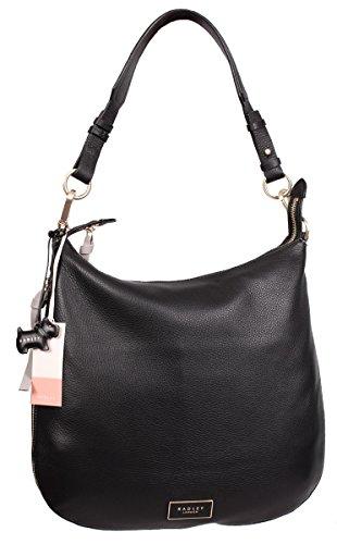 Radley London Pudding Lane Large Hobo Handbag (Black)