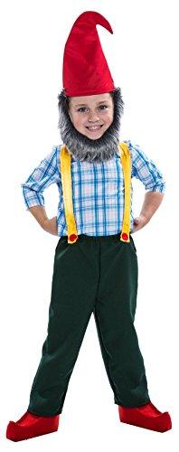 [Gnome Costume for Boys - Medium (8-10)] (Gnome Hats)