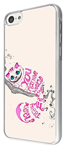 464 - Cat Face You May Have noticed I'm Not All There Myself Design iphone 5C Coque Fashion Trend Case Coque Protection Cover plastique et métal