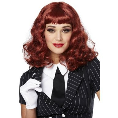 Vegas Natural Red Adult Wig