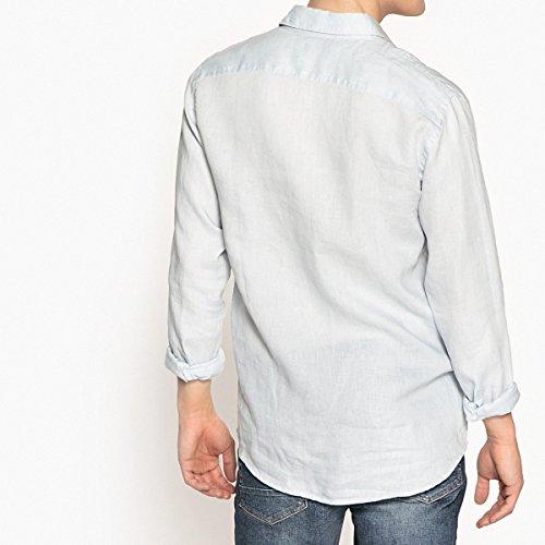 Azzurro Camicia Collections In Uomo La Lino Regular Redoute Clement UPxwRtq8