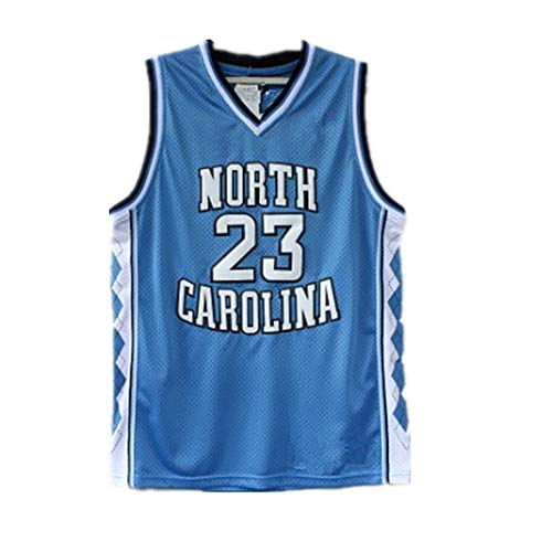 Basketball Jersey North Carolina #23 90S Hip Hop Clothing for Party 2-Layer Stitched Letters and Numbers,S