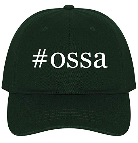 The Town Butler #ossa - A Nice Comfortable Adjustable Hashtag Dad Hat Cap, Forest