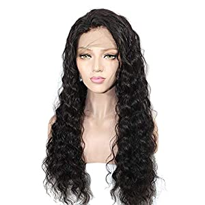 Hairpieces Fluffy Full Lace Hood Full of Glossy Wigs Ladies Live Hair for Daily Use and Party (Size : 22inch)