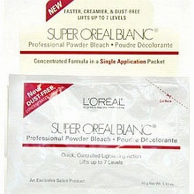 L'Oreal Super Oreal Blanc 1.13 oz. Bleach Packettes (Pack of 24)