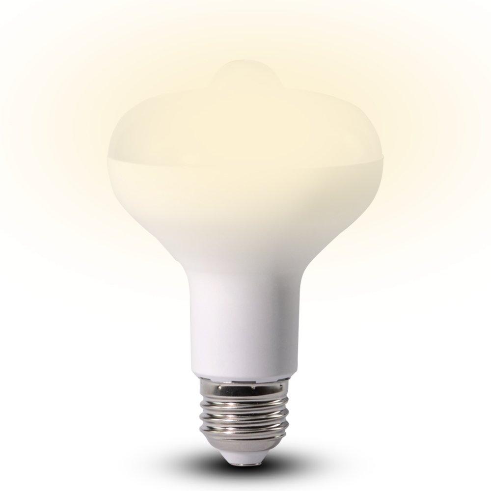 Selectec LED電球 センサーライト 口金e26 人感センサー 赤外線センサーライト 9W 電球60W形相当 高輝度 LEDライト 省エネ 玄関・廊下・階段・トイレに照明便利 電球色 3200k(1個入り)