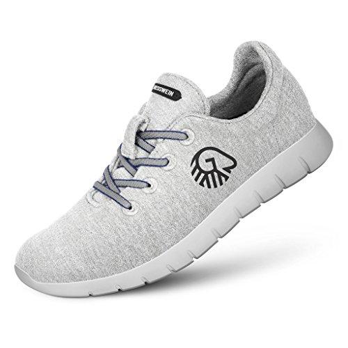 031 Merino Donna 029 In Da Sneaker 468538 Giesswein Hellgrau Nero Lana 49300 Colore 7wqXn8