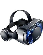 3D VR Headset Virtual Reality Gaming Bril 3D Films Goggles met Oortelefoon Compatibel met iPhone Android 5 tot 7 inch Telefoons