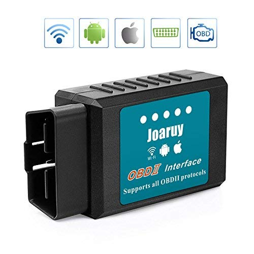 Joaruy OBD2 Scanner, Car Code Reader WiFi Scanner Tool Diagnostic for Cars,OBD2 Code Scanner Adapter for iOS & Android Support All OBDII Protocols