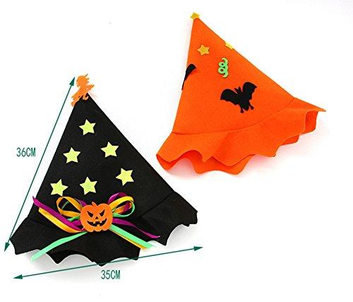 Halloween Strega Kid Mago Cappello Cappello Nero A Costume Della Kaimeng Punta Costume Da Di BwfTEa