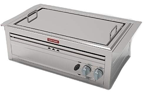 Built in Hibachi 3 in 1 Gas Grill – Hibachi Griddle, Stove Top and BBQ All in one.