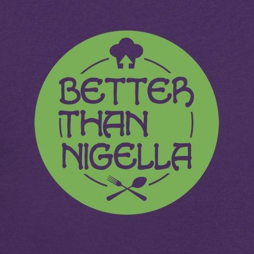 Mejor Que Nigella–para mujer T-Shirt–14colores Púrpura